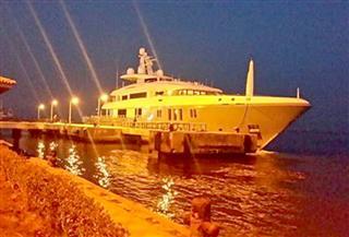 أول يخت سياحي إنجليزي يصل ميناء بورسعيد خلال ٢٠١٨