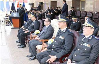 وزير الداخلية يشهد حفل انتهاء التدريب الأساسي لطلبة معهد معاوني الأمن بالبحيرة | صور