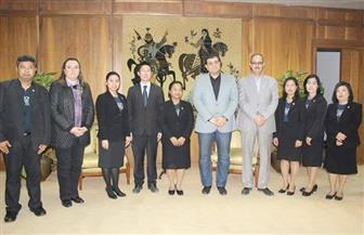 مشروعات جديدة للتعاون بين دار الكتب والمكتبة الوطنية التايلاندية | صور