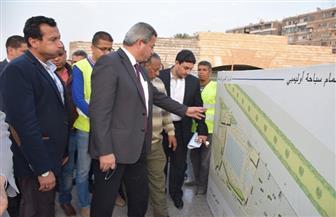 وزير الرياضة يتفقد إنشاء حمام السباحة الأوليمبي بمركز التنمية الرياضية بمصر الجديدة