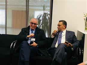 سفير مصر بالمغرب يستقبل وزيرة الثقافة والوفد المشارك في معرض الدار البيضاء للكتاب