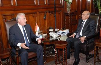 وزير الزراعة يبحث مع محافظ جنوب سيناء تكثيف التعاون لتحقيق تنمية زراعية بالمحافظة