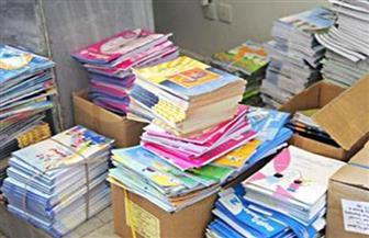 ضبط كتب ثانوية عامة غير مرخصة في مكتبات بشبين الكوم بالمنوفية