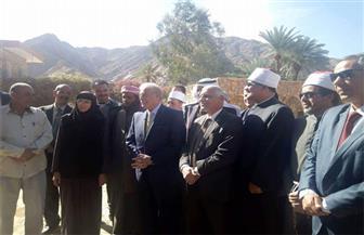 محافظ جنوب سيناء يزور دير السبع بنات بسانت كاترين | صور