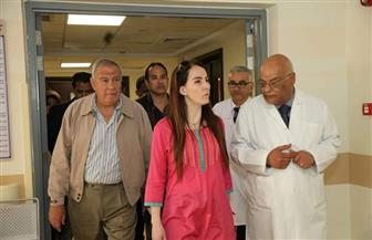 رئيسة الاتحاد البرلمانى الدولى تزور المعالم الأثرية بالأقصر ومستشفى الأورام| صور