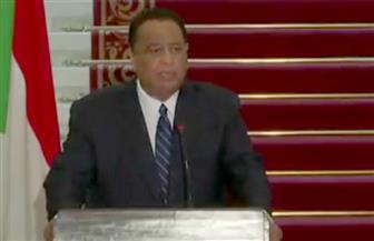 وزير خارجية السودان: العلاقات مع مصر متجذرة وأقول للإعلاميين هذه العلاقة أمانة في رقابكم