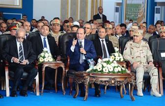 الرئيس السيسي يوجه بالانتهاء من مشروع محور المحمودية في فبراير 2019