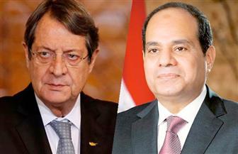 الرئيس السيسي يهنئ نظيره القبرصي بمناسبة إعادة انتخابه