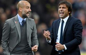 """جوارديولا وكونتي يدعمان دعوات """"عطلة""""  كرة القدم الإنجليزية"""