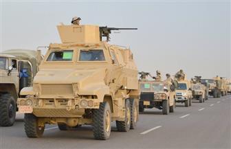 """عناصر من القوات المسلحة تشارك في """"درع الخليج المشترك 1"""" بالمملكة العربية السعودية"""