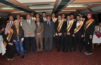 حفل تنصيب رئيس اتحاد جامعة حلوان ونائبه وأمناء اللجان ومساعديهم | صور