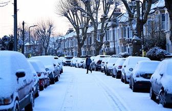 """الثلوج تغطي أجزاء من بريطانيا وأيرلندا في عاصفة """"الوحش القادم من الشرق"""""""