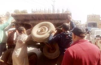 تحرير 20 مخالفة وضبط 13 عربة كارو في حملة بحي شرق سوهاج | صور