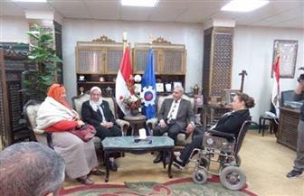 ندوة حول مكتسبات قانون حقوق الأشخاص ذوي الإعاقة بالسويس   صور