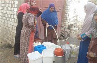 أهالي جرفس بالفيوم يشكون انقطاع مياه الشرب.. ورئيس الشركة: نبحث المشكلة   صور