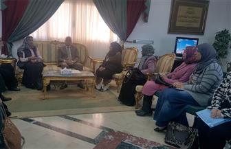 فودة: المرأة السيناوية حصلت على حقوقها كاملة في عهد الرئيس السيسي   صور