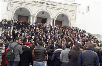 يوم غضب لقضاة تونس بعد احتجاج نقابات أمنية أمام محكمة