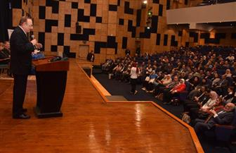 بدء فعاليات المؤتمر العلمي الدولي لطب الأسنان بجامعة النهضة ببني سويف | صور