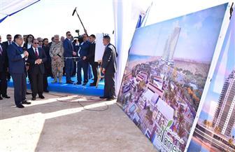 حلم زيادة العمران من ٦ إلى ١٢٪ ينطلق.. تفاصيل تدشين الرئيس السيسي لـ ٧ مدن جديدة| صور