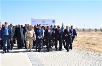 الرئيس السيسي: مدينة رفح الجديدة كانت مخططة منذ ٣ سنوات وتأخرت بسبب الإرهاب