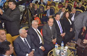 وكيل مجلس النواب في مؤتمر دعم السيسي: لهذه الأسباب أدعو المصريين للنزول في الانتخابات| صور