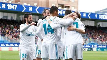 رونالدو يقود ريال مدريد للفوز على إيبار بالدورى الإسبانى
