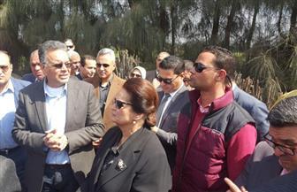 زيارة مفاجئة لمساعد الرئيس ووزير النقل إلى موقع تصادم قطاري البحيرة | صور