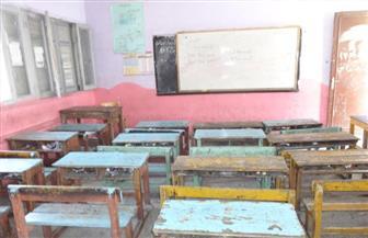 أولياء أمور 1000 تلميذ يمنعونهم من الذهاب لمدرسة بكوم أمبو| صور