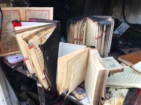 هجوم بزجاجات حارقة على مسجد بألمانيا.. والفاعلون مجهولون|صور