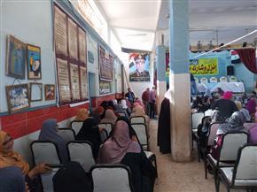 """""""إنزل وشارك"""" مبادرة بمركز شباب """"محلة مرحوم"""" للحث على المشاركة في الانتخابات   صور"""