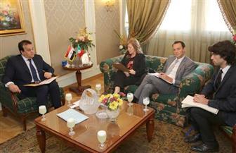 وزير التعليم العالى يستقبل سفيرة البرتغال بالقاهرة لتعزيز التعاون بين البلدين