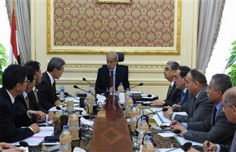 """رئيس الوزراء يلتقي ممثلي شركة """"تويوتا تسوشو"""" اليابانية لبحث إنشاء مجمع للبتروكيماويات في السويس"""