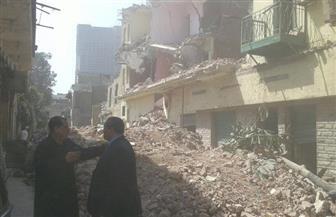 نائب محافظ القاهرة يتفقد إزالات مثلث ماسبيرو | صور