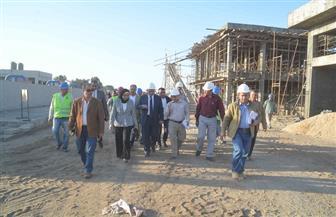 محافظ المنيا يفتتح مشروعات خدمية بـ3 مراكز في العيد القومي للمحافظة