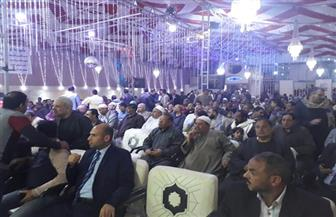 مؤتمر حاشد بقرية الجوسق في الشرقية لدعم الرئيس السيسي | صور