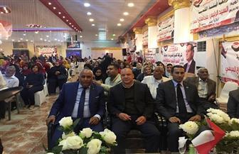 مؤتمر جماهيري حاشد لدعم الرئيس السيسي برأس غارب | صور