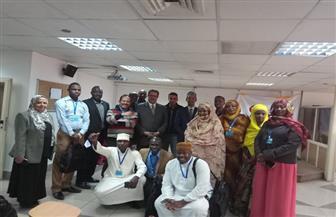 """أحمد سليم يسرد """"حكاية وطن""""  للإعلاميين الأفارقة بدورة الأعلى للإعلام  صور"""