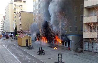 حرق مسجد في ألمانيا.. والشرطة تبحث عن 5 أشخاص مشتبه بهم