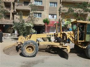 رفع 7 أطنان مخلفات صلبة في حملة نظافة بحي الكوثر في سوهاج