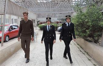 وفد من مديرية أمن كفرالشيخ يزور دار المسنين بمناسبة اليوم العالمي للمرأة