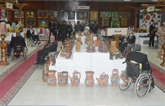 معرض لإبداعات المحاربين القدماء احتفالا بذكرى انتصارات أكتوبر