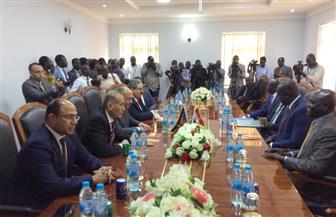 """سامح شكري يوقع مذكرة تفاهم """"للتشاور السياسي"""" بين الخارجية المصرية وجنوب السودان   صور"""