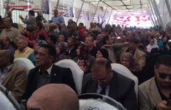 عمال الأدوية والصناعات الكيماوية والتجارة يؤيدون الرئيس السيسي في الانتخابات | صور