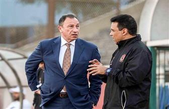البدري وعبد الحفيظ يجتمعان مع رئيس النادي الأهلي