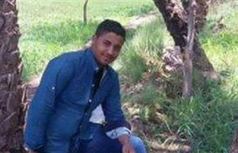 النصارية بالفيوم تودع ابنها الشهيد خالد محمد عيد