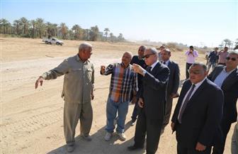الهجان يتفقد عددا من المشروعات الخدمية  بمدينة قنا | صور