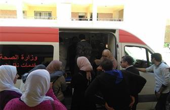 انطلاق فعاليات اليوم الأول للتبرع بالدم لصالح مصابي القوات المسلحة بمطروح | صور