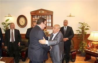 هاني ضاحي يبدأ مهام منصبه كنقيب للمهندسين بتوجيه الشكر إلى النبراوي