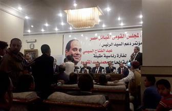 مجلس قبائل مصر يدعم الرئيس السيسي بمؤتمر حاشد في بالغردقة| صور