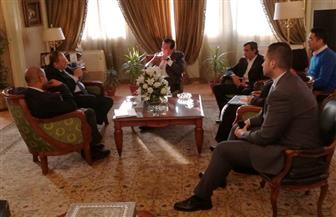 وزير التعليم العالي يستقبل مدير مكتب اليونسكو الإقليمي بالقاهرة | صور